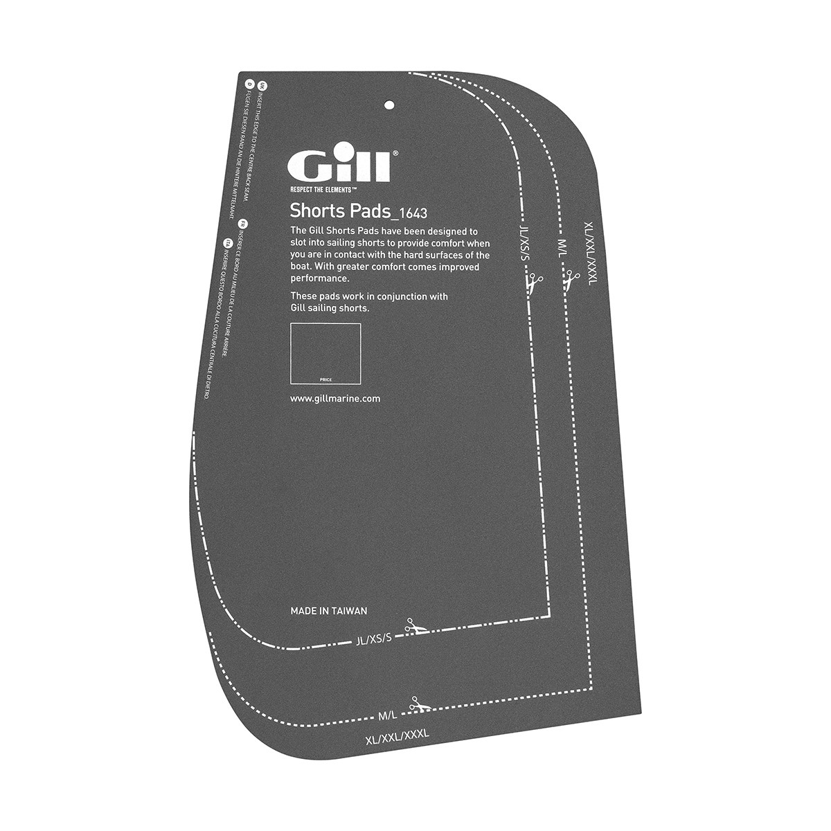 Gill - Shorts Pads (8mm)