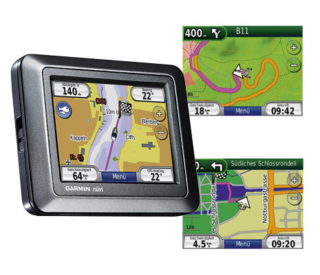 Garmin - nüvi 550 Allround