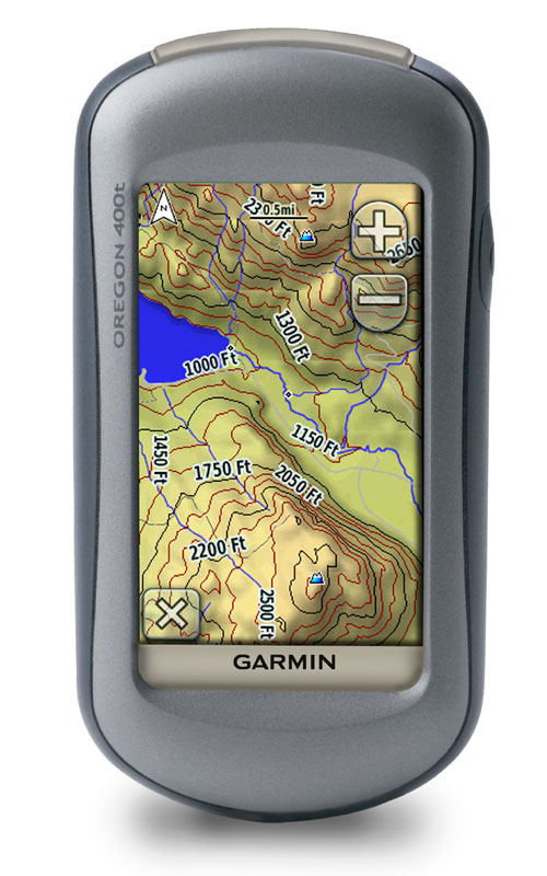 Garmin - Oregon 400t