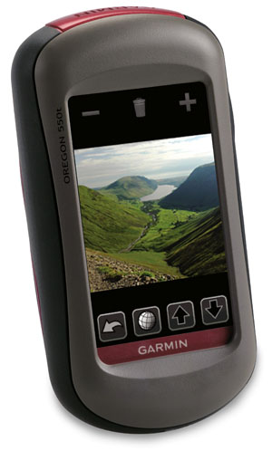 Garmin - Oregon 550t