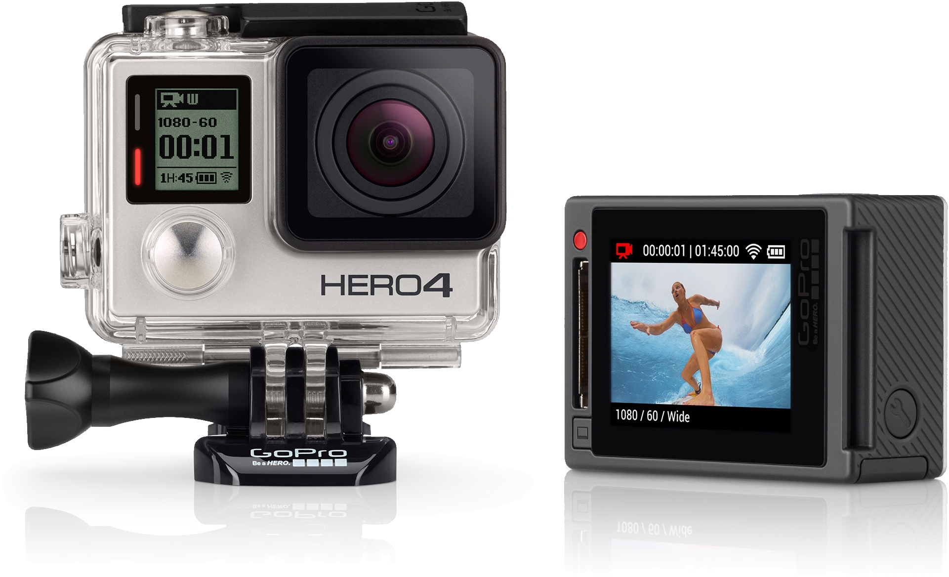 GoPro HD HERO4 Silver Edition